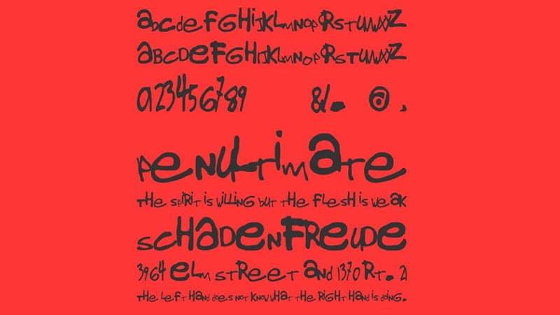 Gorillaz Font Free Download [Direct Link]