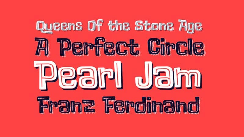 Lollapalooza Font Free Download [Direct Link]
