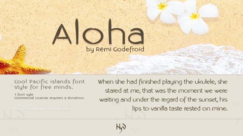 Aloha Font Free Download [Direct Link]