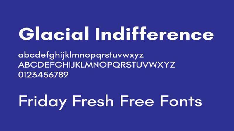 Glacial Indifference Font Free Download [Direct Link]
