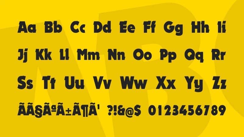 Nougat Font Free Download [Direct Link]