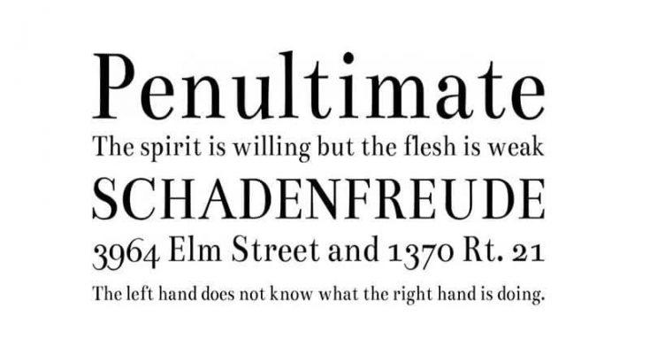 Bentham Font Free Download [Direct Link]