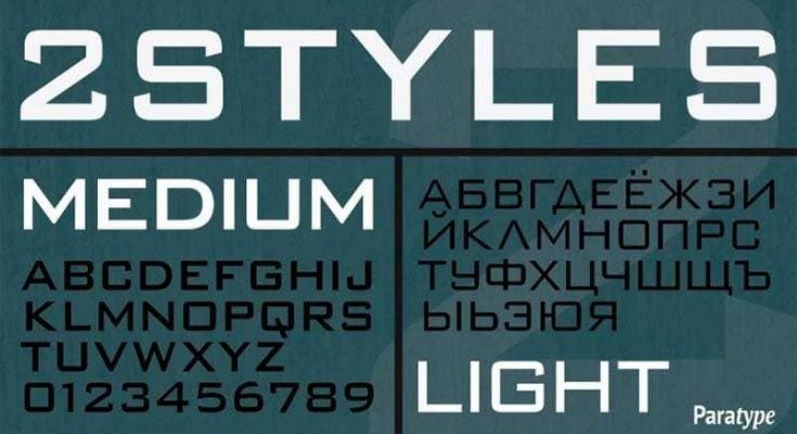 Bank Gothic Font Free Download [Direct Link]