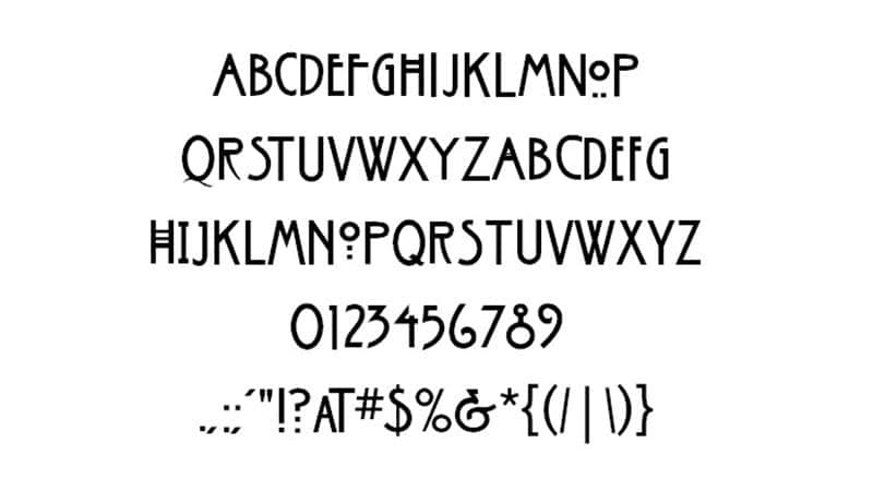 American Horror Story Font Free Download [Direct Link]