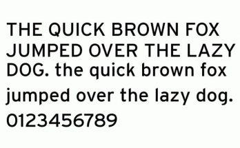 Interstate Font Download [Direct Link]
