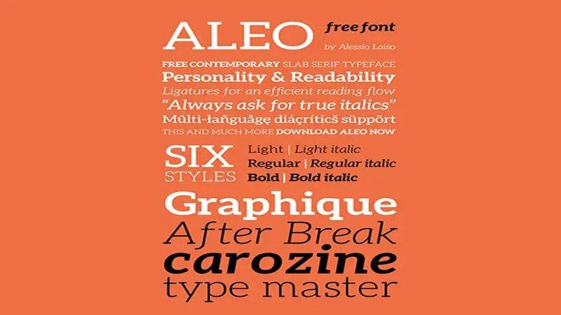 Aleo Font Free Download [Direct Link]