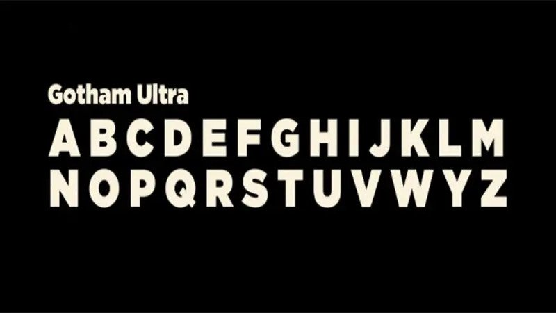 Gotham Ultra Font Free Download [Direct Link]