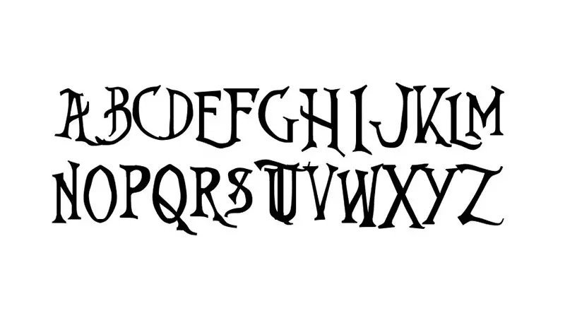 Nightmare Before Christmas Font Free Download [Direct Link]
