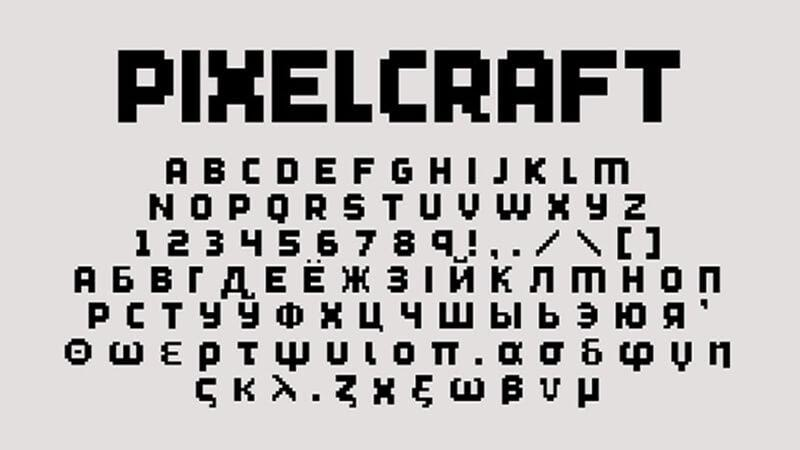 Minecraft Font Free Download [Direct Link]