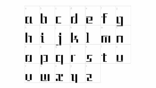 Tetris Font Free Download [Direct Link]