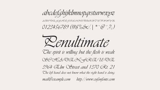 Vivaldi Font Free Download [Direct Link]