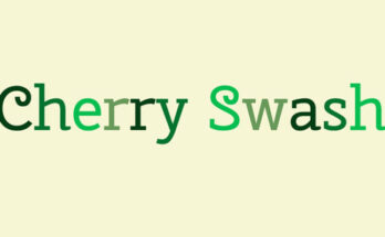 Cherry Swash Font Free Download [Direct Link]