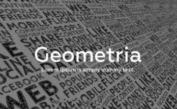 Geometria Font Free Download [Direct Link]