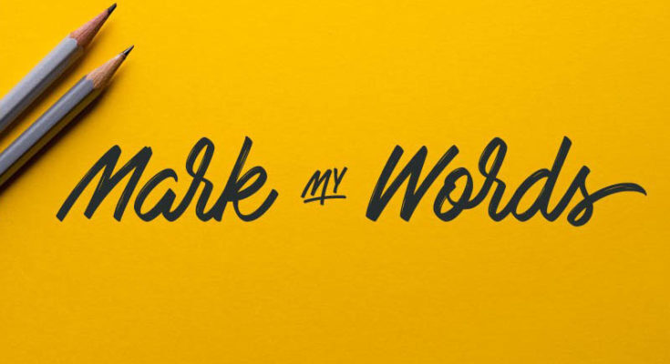 Mark My Words Font Free Download [Direct Link]