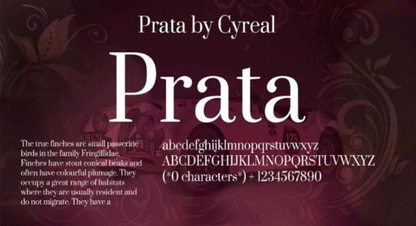Prata Font Free Download [Direct Link]