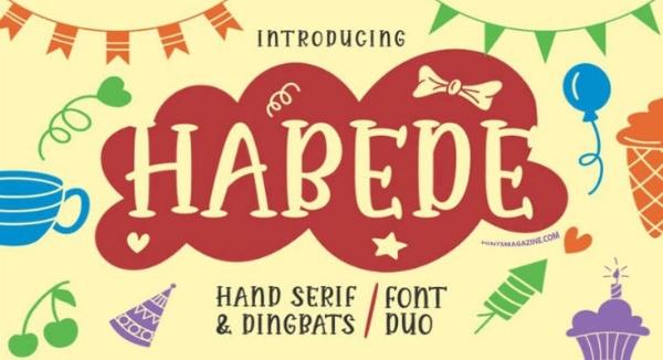 Habede Extra Doodle Font Download [Direct Link]