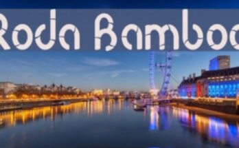Roda Bambo Font Free Download [Direct Link]