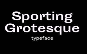 Sporting Grotesque Font Free Download [Direct Link]