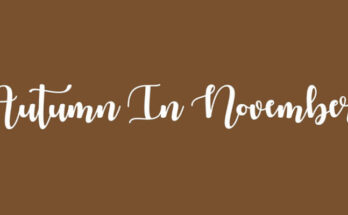 Autumn-In-November-Font-Family-Free-Download