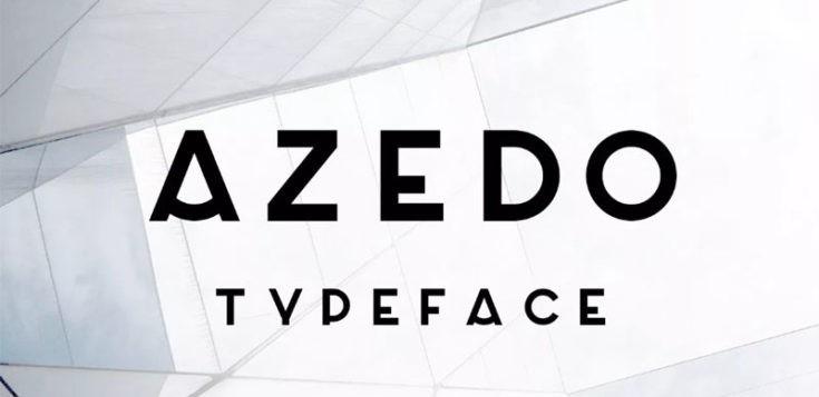 Azedo Font Free Download