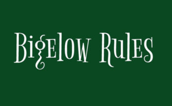 Bigelow Rules Font Free Download