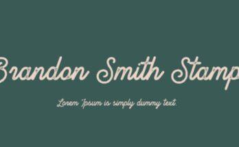 Brandon-Smith-Font-Family-Free-Download