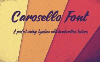 Carosello-Font-Family-Free-Download