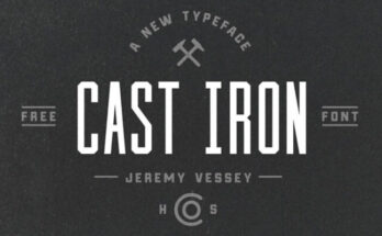 Cast-Iron-Font-Family-Free-Download