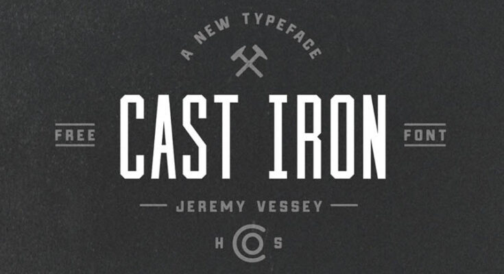 Cast Iron Font Free Download
