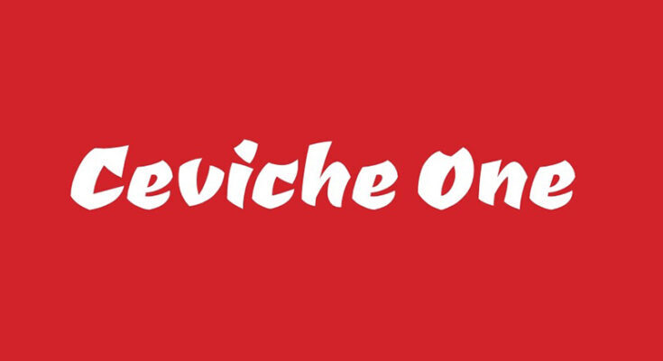 Ceviche One Font Free Download