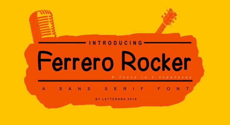 Ferrero Free Font Download