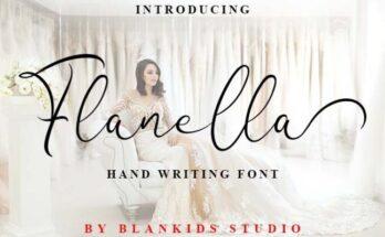 Flanella Font Free Download