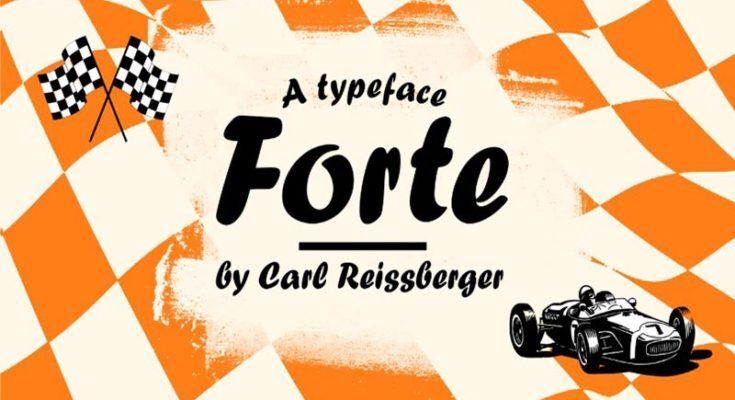 Forte Font Free Download