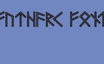 Futhark-Font-Family-Free-Download