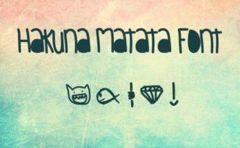 Hakuna-Matata-Font-Free-Download