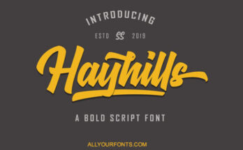 Hayhills-Font-Family-Free-Download
