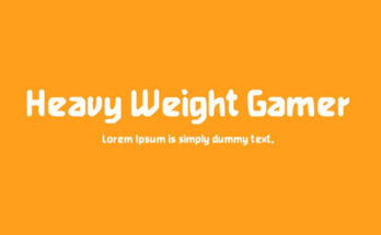 Heavy-Weight-Gamer-Font-Family-Free-Download