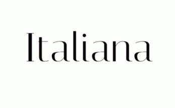 Italiana-Font-Family-Free-Download
