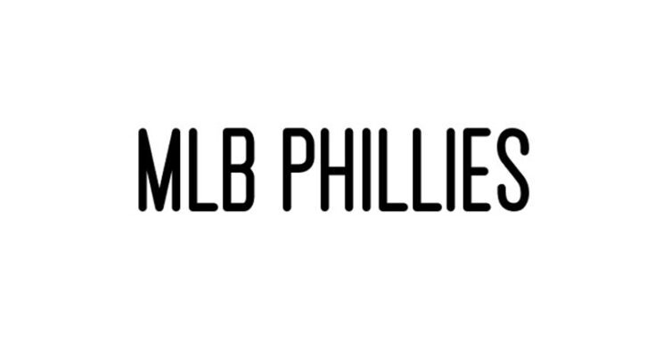 MLB Phillies Font Free Download