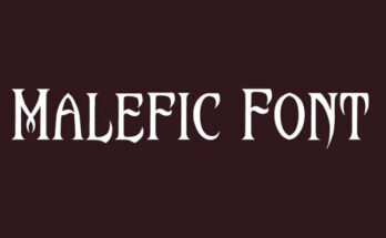 Malefic-Font-Family-Free-Download