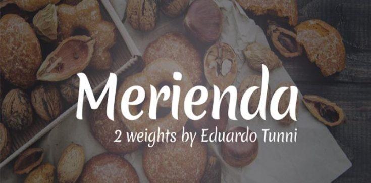 Merienda Font Free Download