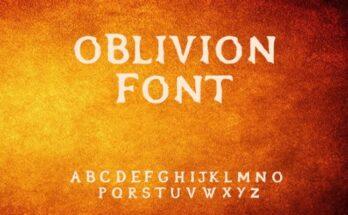 Oblivion-Font-Free-Download
