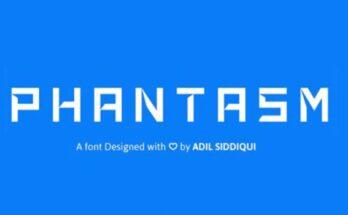 Phantasm Font Free Download