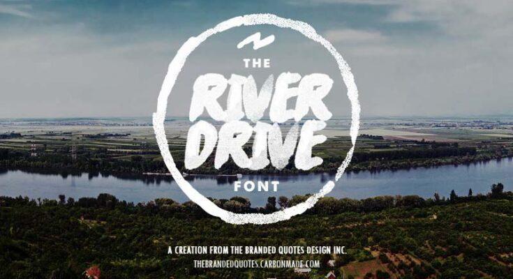 River Drive Font Free Download