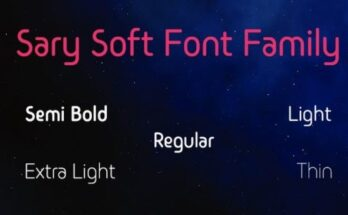 Sary-Soft-Font-Family-Free-Download