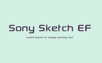 Sony-Sketch-EF-Font-Family-Free-Download