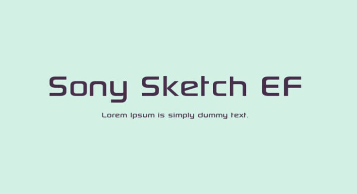 Sony Sketch EF Font Free Download
