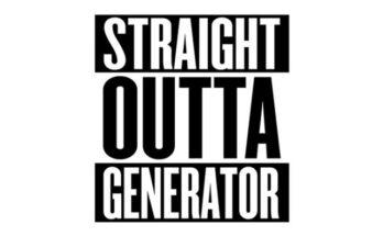 Straight Outta Compton Font