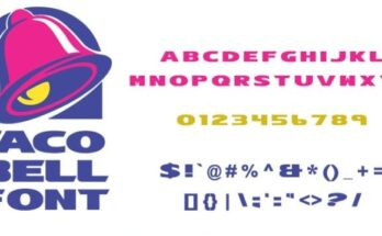 Taco-Bell-Font-Family-Free-Download