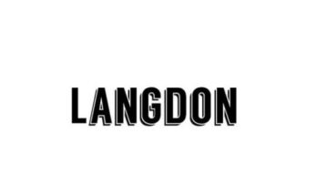 langdon font
